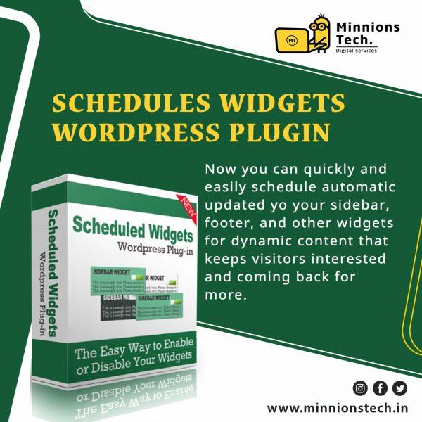 Scheduled Widgets WordPress Plugin