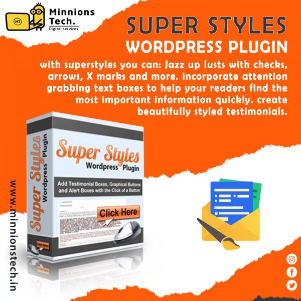 Super Styles WordPress Plugin