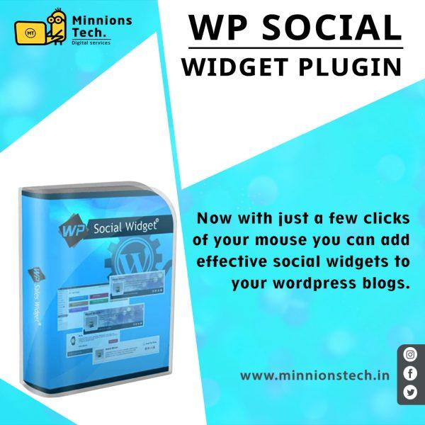 WP Social Widget Plugin