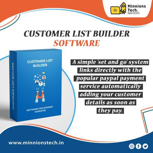 Customer List Builder Software