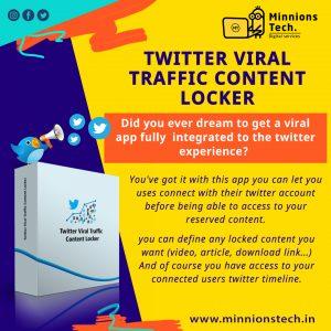 Twitter Viral Traffic Content Locker