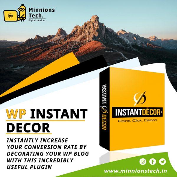 WP Instant Decor