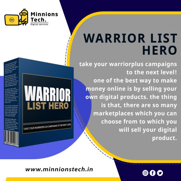 Warrior List Hero