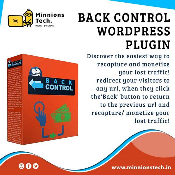 Back Control WordPress Plugin