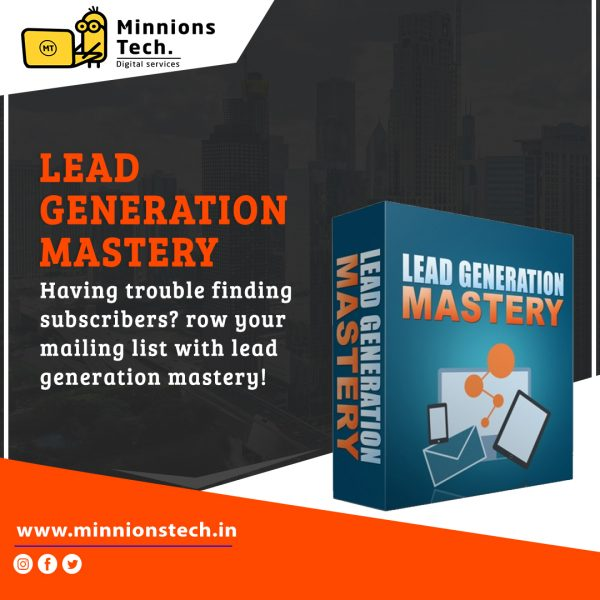 Lead Generation Mastery'