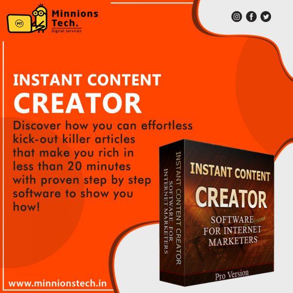 Instant Content Creator