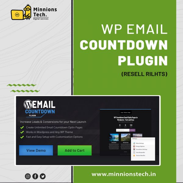 WP Email Countdown Plugin [ Resell Rights ]